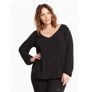 Torrid open back top